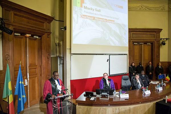 Macky Sall, Président de la République du Sénégal, docteur honoris causa